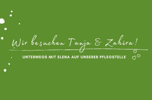 Mit Elena unterwegs: Pflegestelle Tanja Geigis