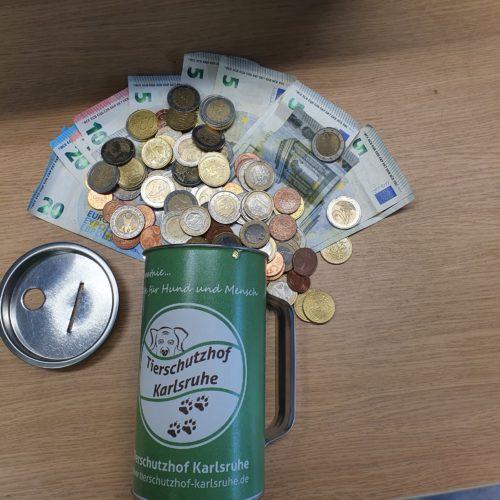 Bewerbung von Spendenaktionen